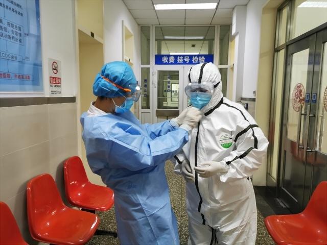 为航空总医院疾病预防控制处「铁娘子」团队打 Call!