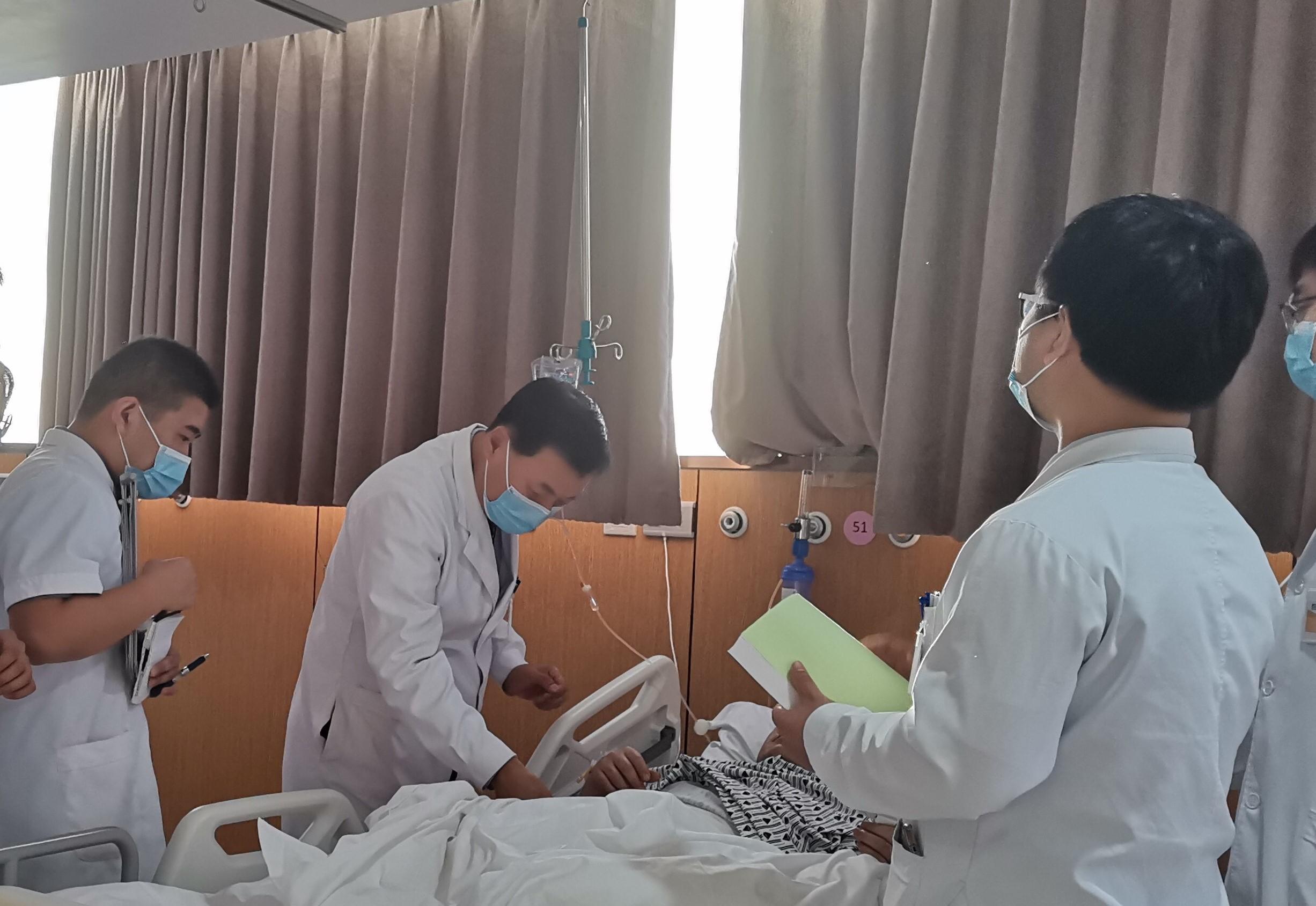 北京优联医院精准施治  起死回生,成功救治一名因结肠多发癌晚期七患者