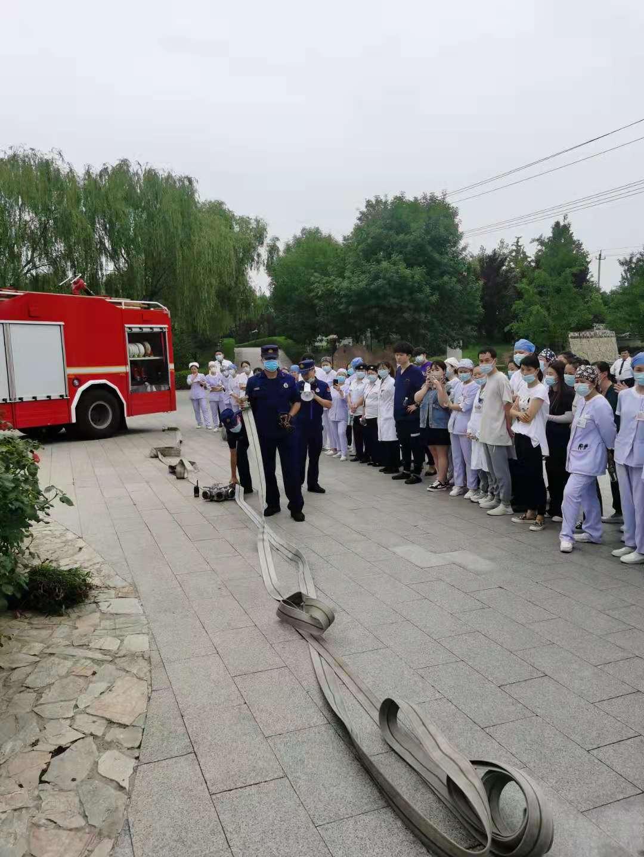 北京优联医院开展消防演练,筑牢安全防线