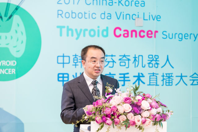 达芬奇机器人甲状腺癌手术,让疤痕「术后隐形」
