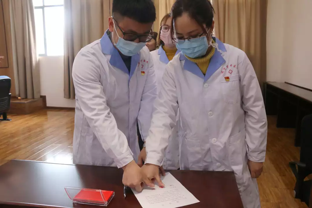 逆风前行!遂宁市中医院这 3 名医务人员即将前往湖北!