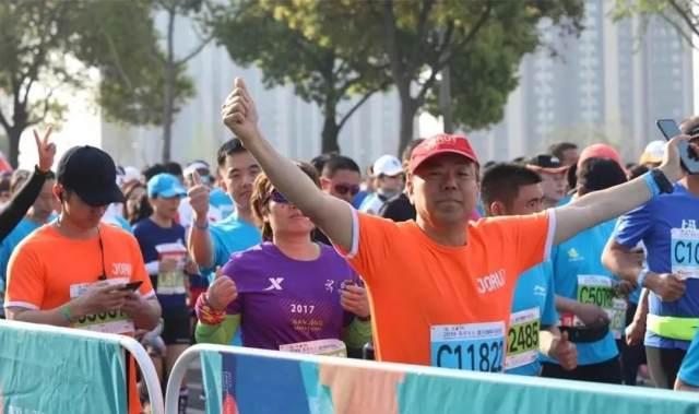 九如城集团护航 2019 宜兴国际马拉松