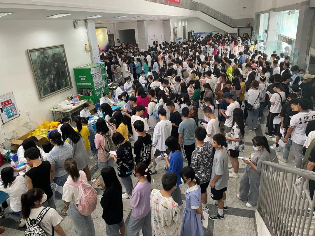 教师节,成都京东方医院为四川文化产业职业学院师生体检