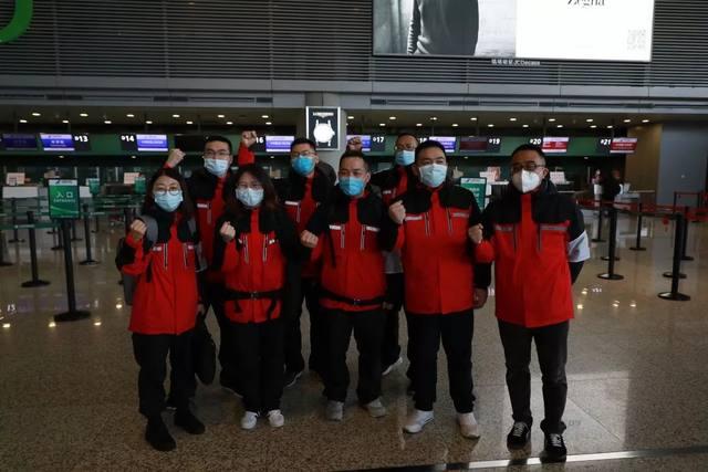 刚刚!上海市第七人民医院 50 名医护人员驰援武汉!