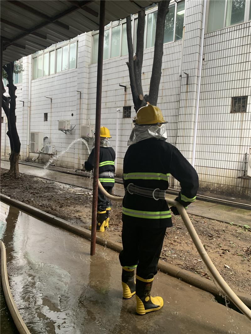 消防安全在行动 自治区南溪山医院开展消防应急演练
