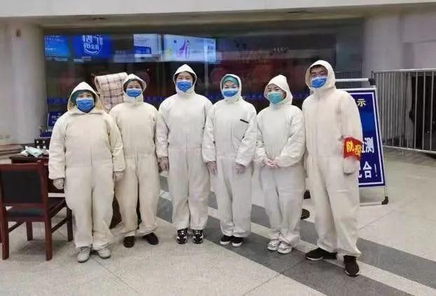 机场防控一线上的河北工程大学附院人