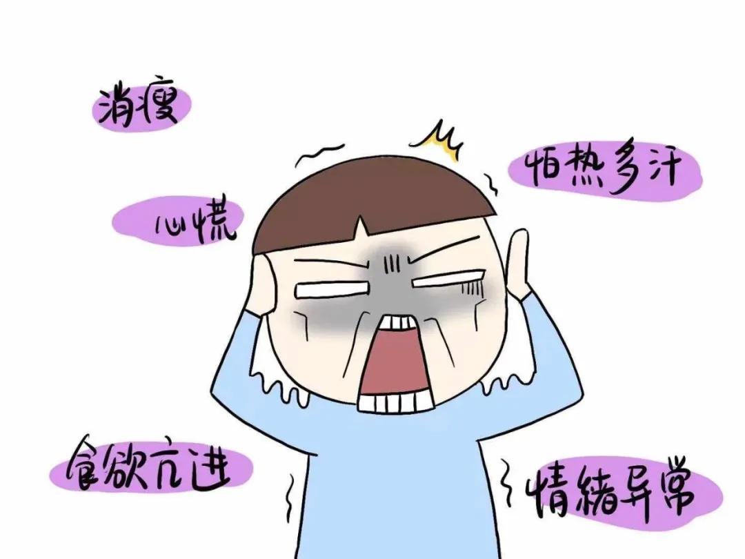 心慌手抖、烦躁易怒 可能是甲亢在作祟