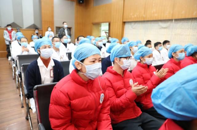 出征!广西医科大学第一附属医院首批医疗队 25 人今天驰援湖北战疫情