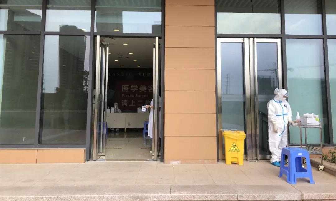 福建国药东南医院开辟专门通道,为单位、团体开展核酸检测工作