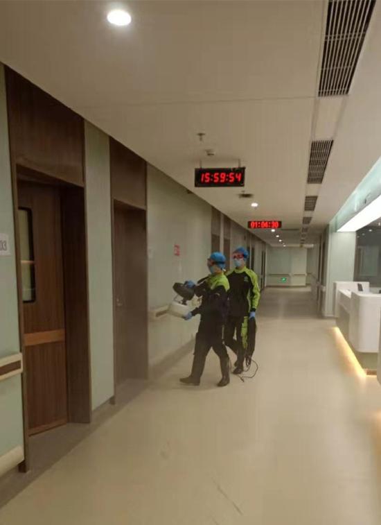 南方医科大学深圳医院:启用红外体温监测仪 备战返程高峰疫情