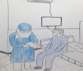 隔离病房十二时辰的抗疫故事 ——西安交大一附院感染科护士贺婷