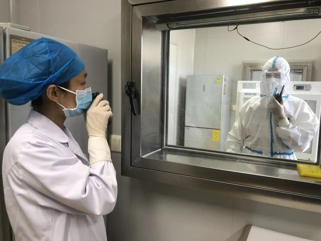 探访北大医疗潞安医院核酸检测实验室