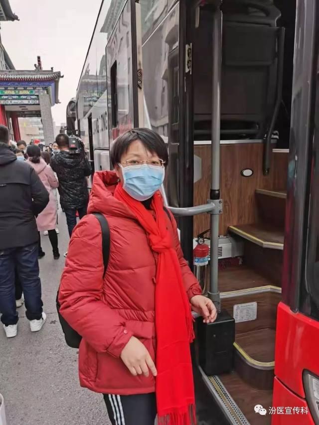 山西省汾阳医院王海婷:奔赴疫区的第 2 天,是儿子的生日