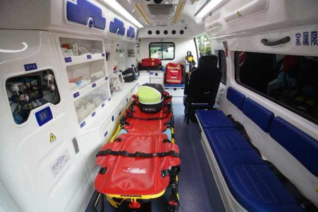 硬核升级!沪上首台智能化救护车在上海市同济医院首发