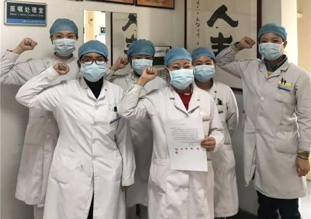 河北医大一院让党旗在疫情防控一线高高飘扬