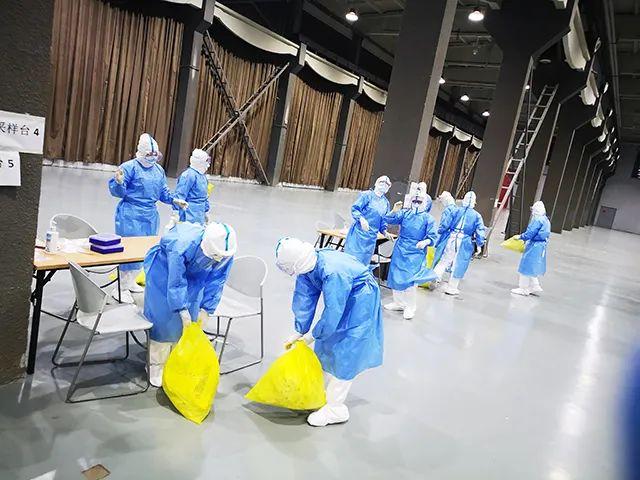 航空总医院完成朝阳规划艺术馆核酸标本采集支援工作