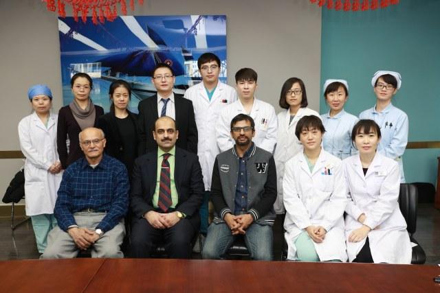 陆道培医院在巴基斯坦女童体内成功植活中国捐赠者骨髓