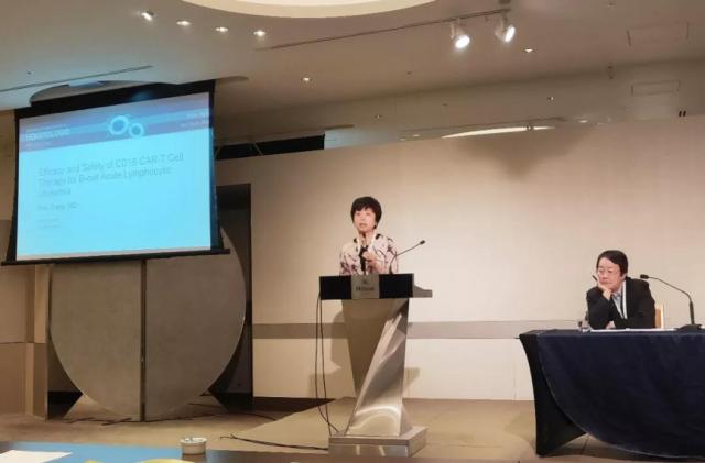 张弦参加第二届血液恶性肿瘤全球峰会(亚洲)并作报告