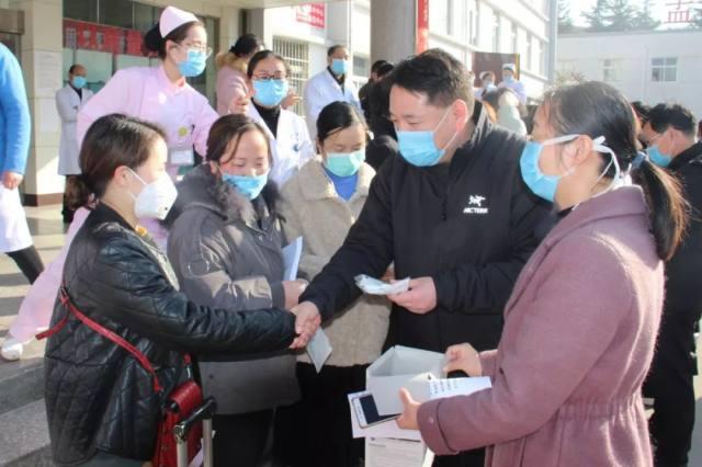 孟津县第二人医院 15 名医护人员支援湖北医疗队出征