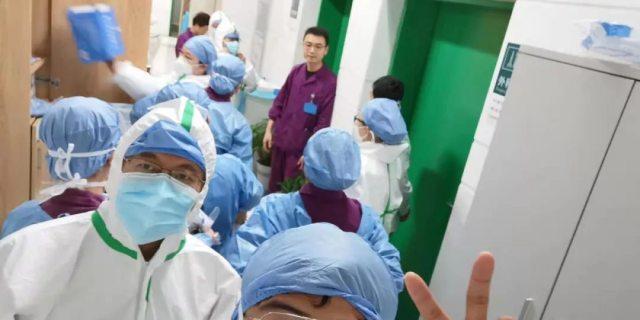 武汉市第一医院致亲爱的战友们
