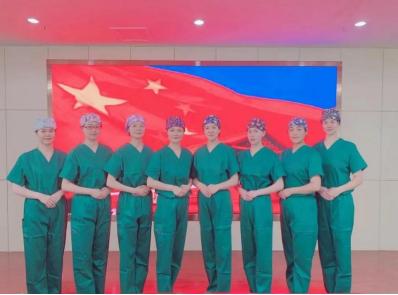 济南市第二人民医院巾帼文明岗、青年文明号开展「诵读经典」活动