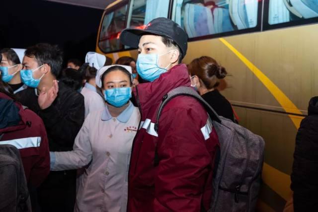 漳州市正兴医院第三批医疗队 20 勇士赴鄂