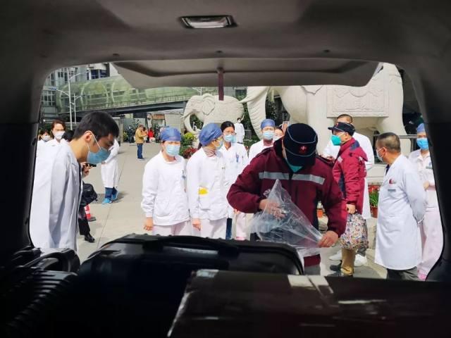 驰援宜昌,福建省肿瘤医院对口支援宜昌防治新冠肺炎首批医疗队员出征
