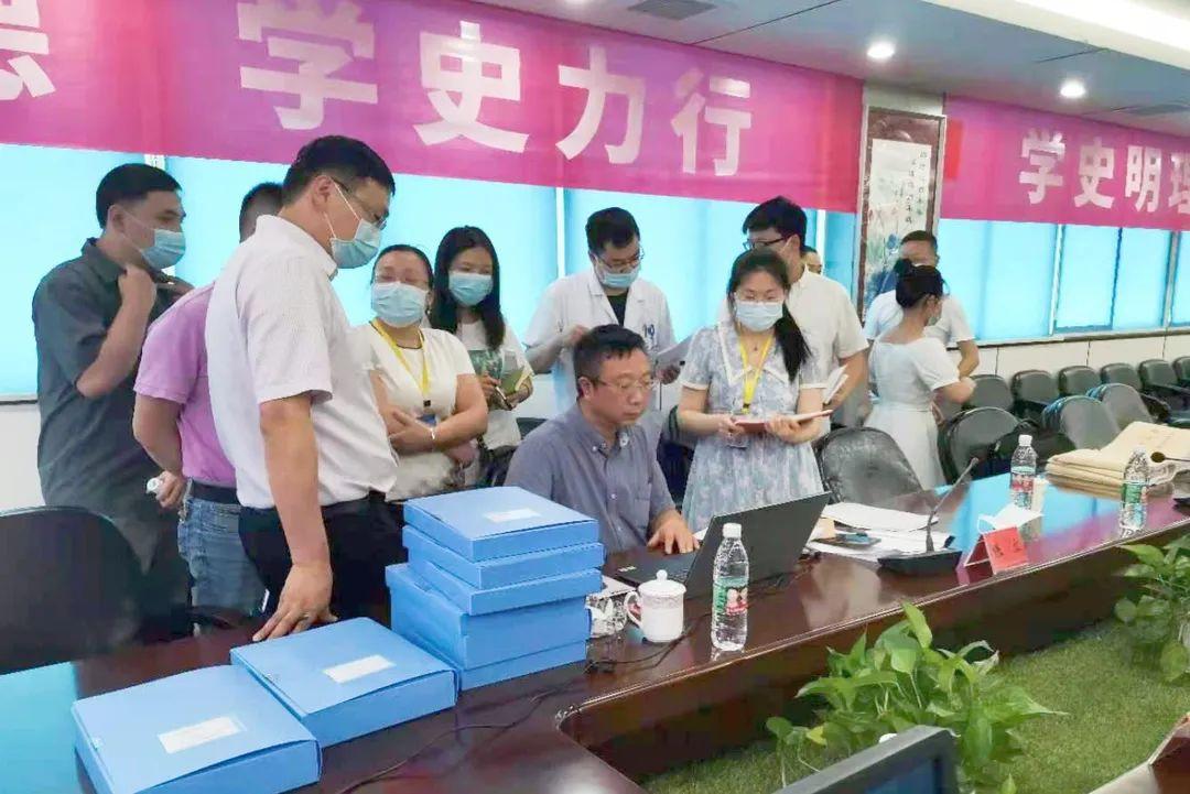 岳池县人民医院顺利通过四川省胸痛中心联盟现场预检