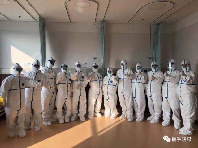 皖北煤电集团总医院战「疫」日志