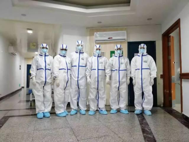 河南大学第一附属医院医疗队员战「疫」第一天