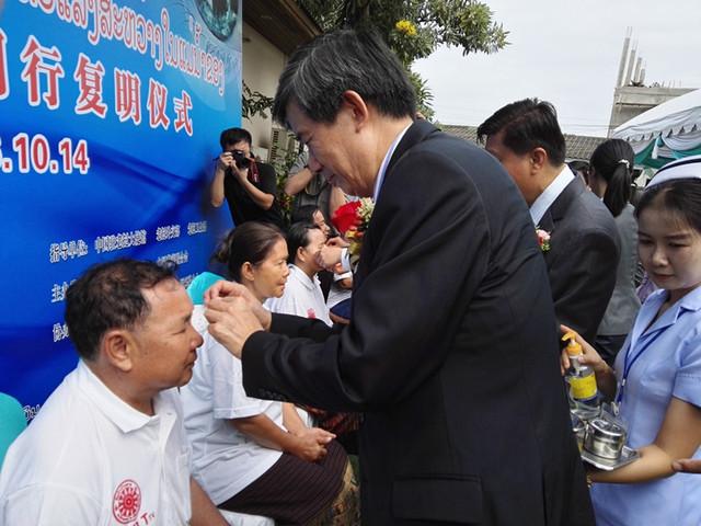 跨国光明行:湄公河流域再次扬起华厦公益大旗