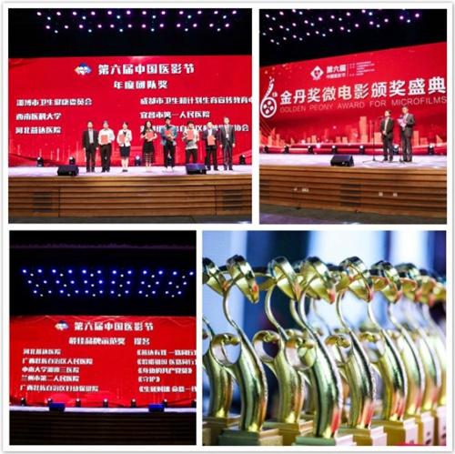 河北燕达医院荣获第六届中国医影节金丹奖•年度团队奖