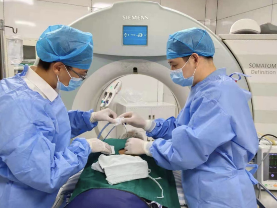 广西壮族自治区南溪山医院运用恶性肿瘤微波消融术治疗高龄患者