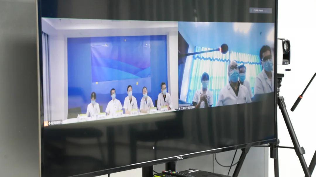 成都中医大银海眼科医院与重庆江津区中医院医联体远程会诊正式开通