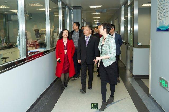 「肿瘤生物治疗技术研发平台」在陆道培医院正式揭牌