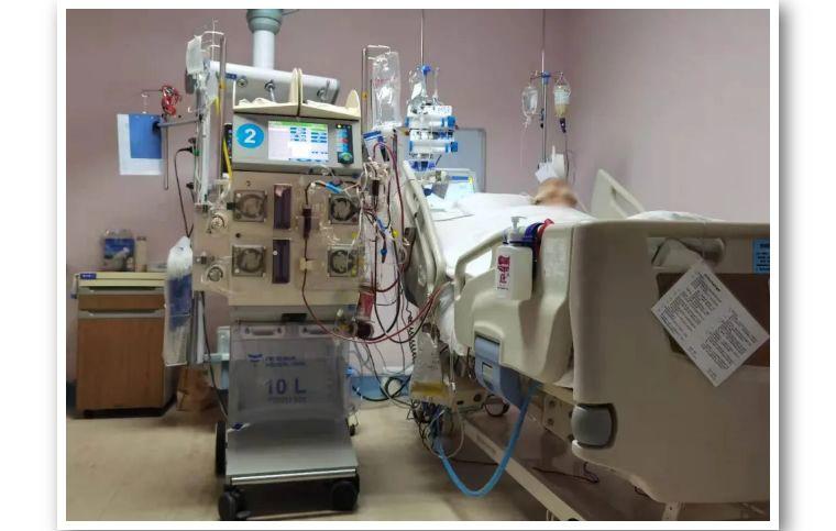 北大医疗海洋石油医院率先开展连续性肾脏替代(CRRT)联合体外二氧化碳清除(ECCO2R)技术