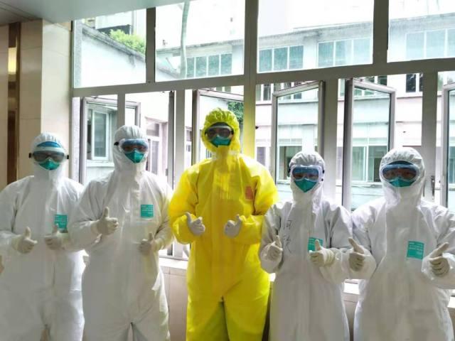 广州市第一人民医院的 90 后冲锋一线的青年力量!
