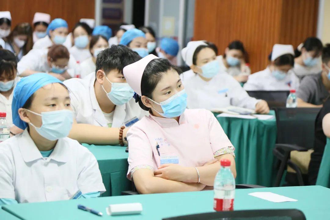 上海海华医院 2021 年第一次全院护士大会圆满成功