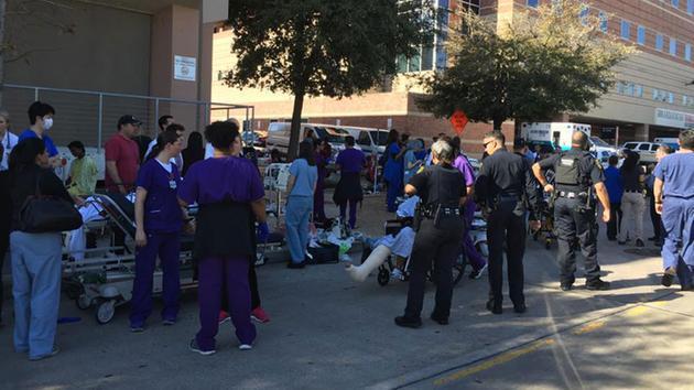 美国休斯顿一医院发生枪击案 未有人员伤亡