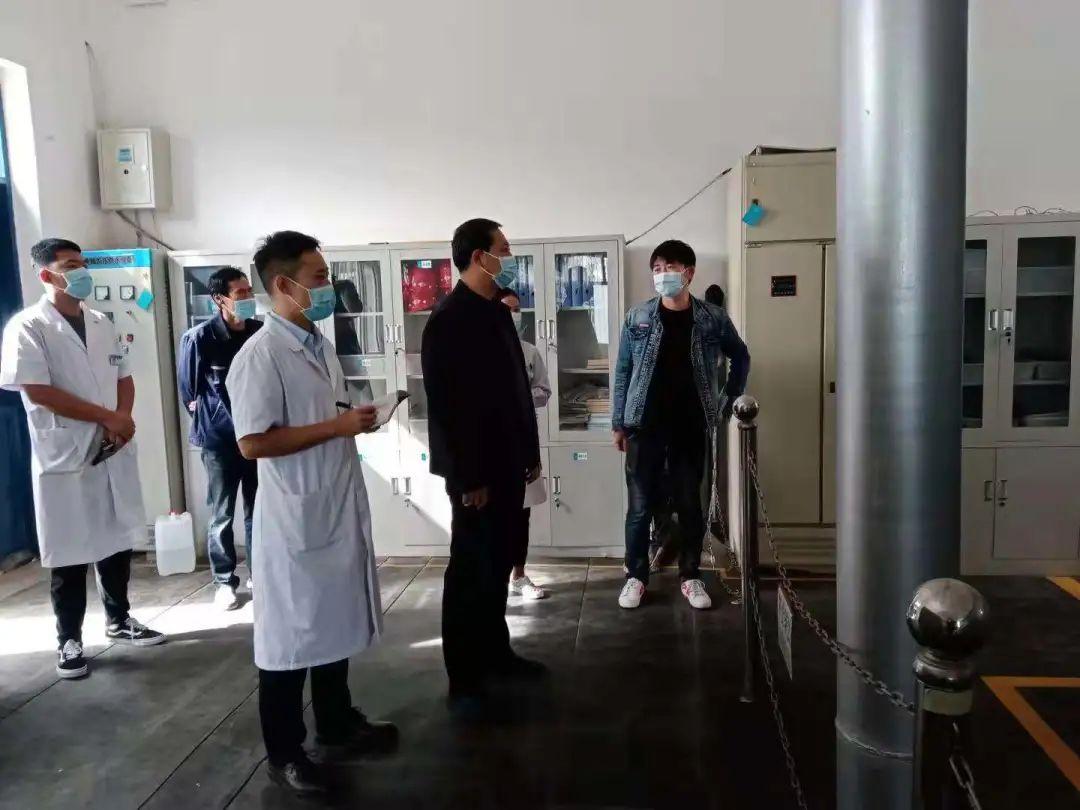 赤峰市宁城县中心医院中心医院开展安全生产检查及消防演练活动