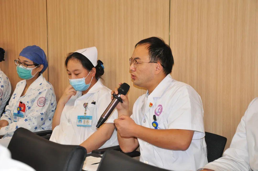 我为医院发展建言献策!阜阳市妇女儿童医院这场座谈会很接地气儿