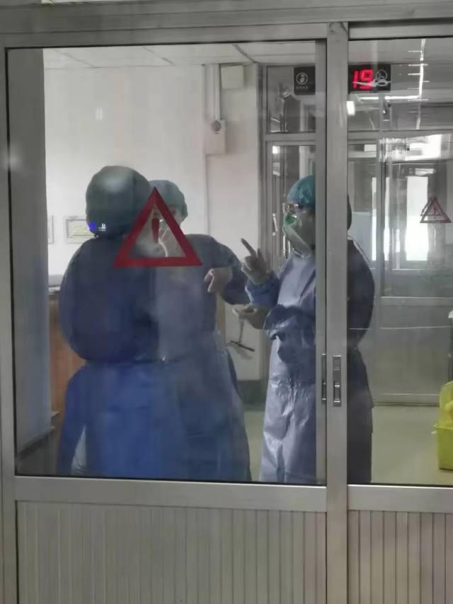 乳山市中医院那些抗击疫情的美丽身影