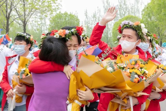 北京大学国际医院援鄂国家医疗队隔离期满归院