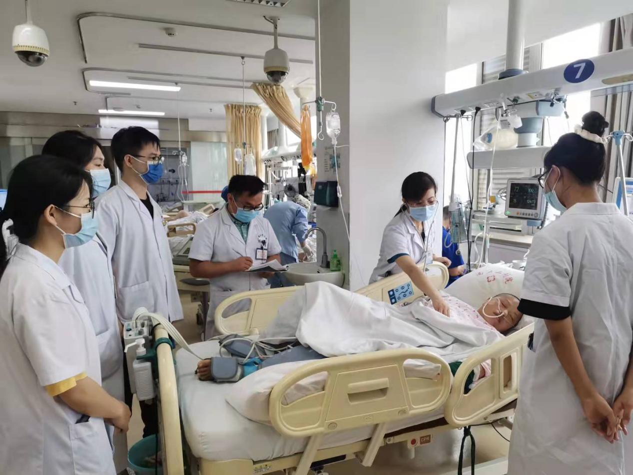 南昌大学第二附属医院神经内科成功救治一例重症抗 NMDA 受体脑炎患者