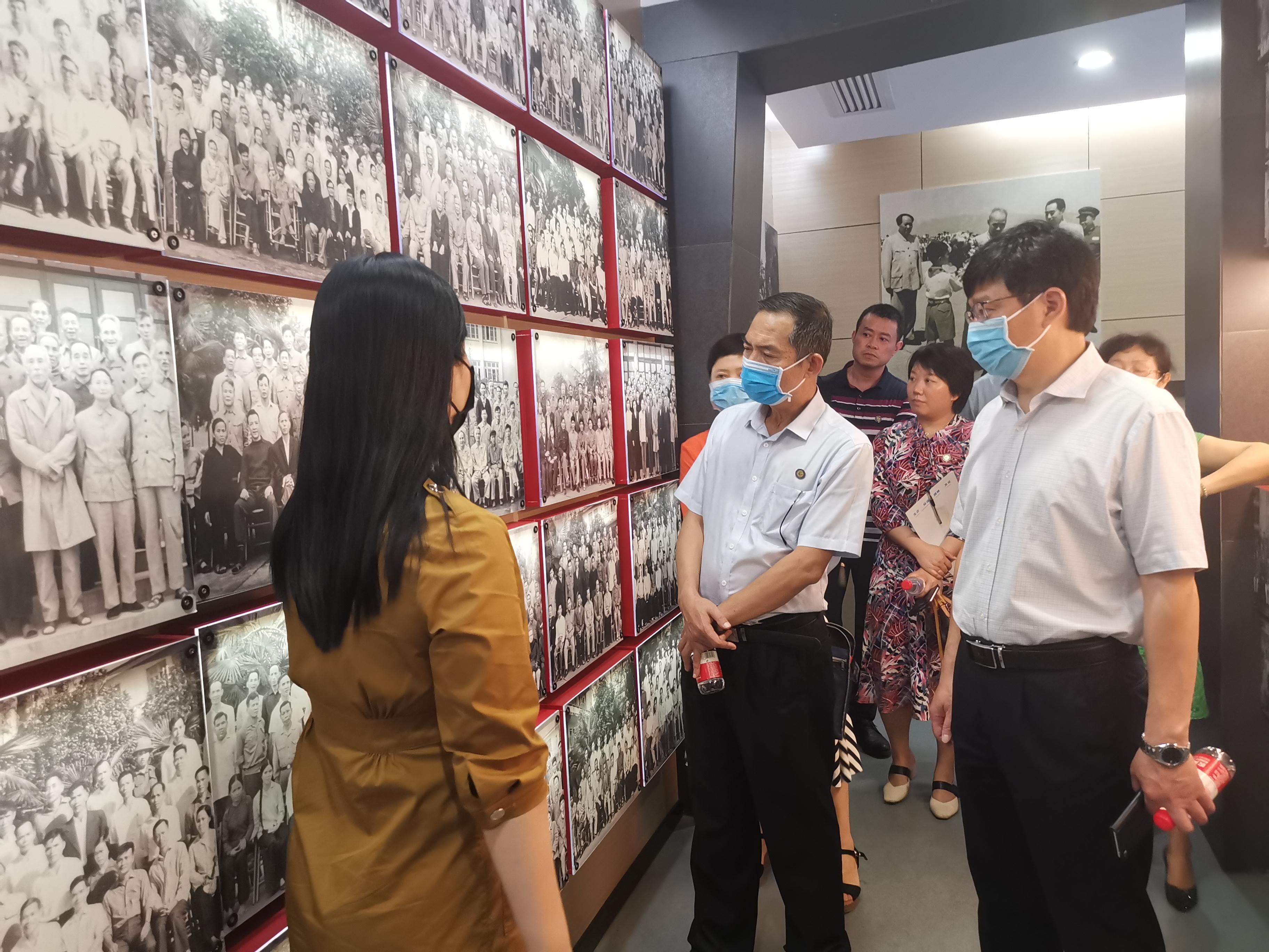 广西师范大学漓江学院领导到广西壮族自治区南溪山医院开展座谈交流
