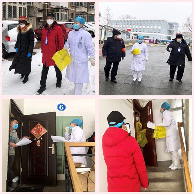 大雪,阻挡不了航空总医院航材院社区医生上门访视的步伐