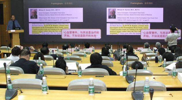 胡大一教授心血管非手术治疗临床基地在天津揭牌