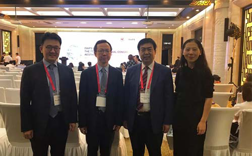 郭树忠出席中华医学会整形外科学分会交流会