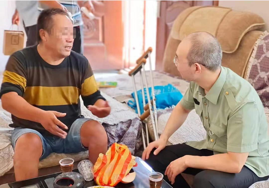 「医」路呵护,心系病友——郑州仁济医院医生上门家访送健康
