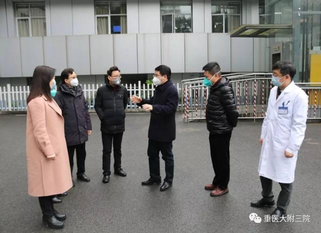 重医大附三院:【抗疫一线】在隔离病区战斗的白衣天使们